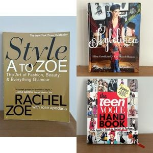 Fashion Style Design 3 Book Bundle